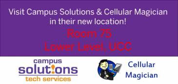 Campus Solutions and Cellular Magician