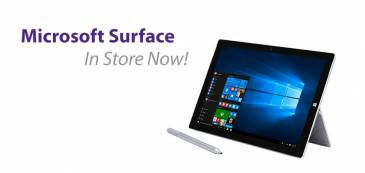 Microsoft Surface in store now